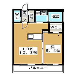 LIEN N33[3階]の間取り