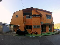 兵庫県川西市鴬の森町の賃貸アパートの外観
