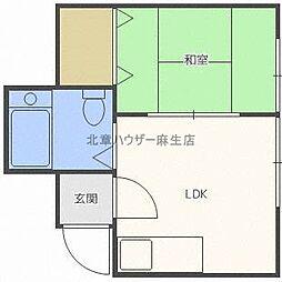 31条ビル[2階]の間取り