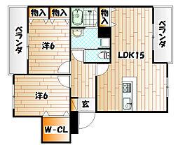 プレステージ葉山II[1階]の間取り