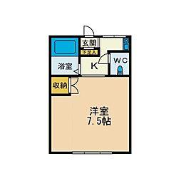KIハイムA棟[2階]の間取り