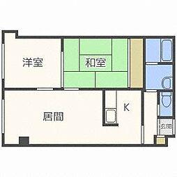 エミネンス35[4階]の間取り