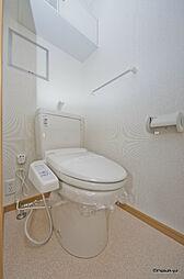 コンフォートのトイレ ウォシュレット付き。