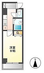 キャッスル(CASTLE)ワタナベ[7階]の間取り