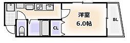 ウェーブ元町[2階]の間取り