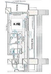 東京都品川区小山台1丁目の賃貸マンションの間取り