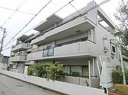 ライオンズマンション上野芝[1階]の外観