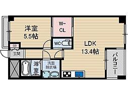 Casa Bonita[5階]の間取り