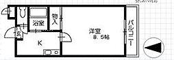 コーンハイツI[3階]の間取り