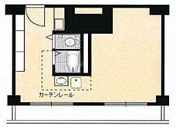 パピリオーテ西横浜[7階]の間取り
