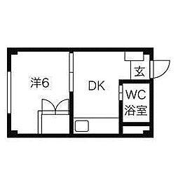 セレッソ本郷[4階]の間取り