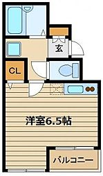 EW・TOKYO保谷[5階]の間取り