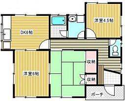 [一戸建] 神奈川県厚木市林5丁目 の賃貸【神奈川県 / 厚木市】の間取り