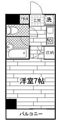 ラフィネ多摩平[1階]の間取り