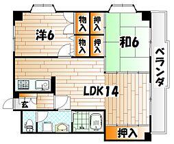 ハイツ赤坂II[3階]の間取り