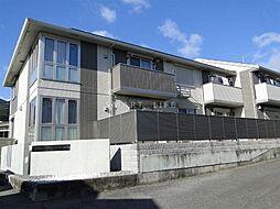 滋賀県大津市穴太2丁目の賃貸アパートの外観