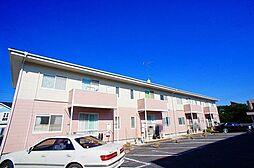 埼玉県比企郡川島町大字上伊草の賃貸アパートの外観