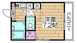 メゾン・アイ[203号室]の間取り