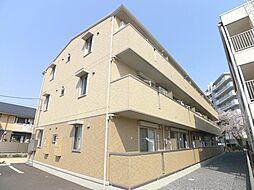 埼玉県越谷市蒲生3丁目の賃貸アパートの外観