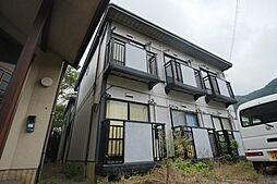 京都府京都市山科区大宅中小路町の賃貸アパートの外観