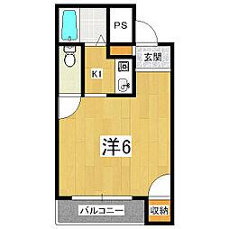 キャビンエイト[2階]の間取り