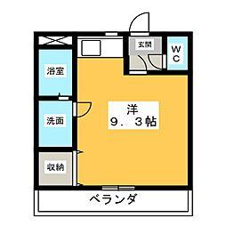 ラフォーレ五明[2階]の間取り