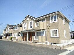 愛知県西尾市今川町宮東の賃貸アパートの外観