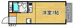 プチメゾン・スール[2階]の間取り