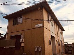 広島県安芸郡府中町桃山2丁目の賃貸アパートの外観