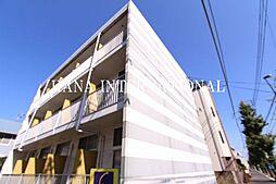 東京都小金井市前原町4の賃貸マンションの外観