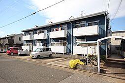 愛知県名古屋市中川区本前田町の賃貸アパートの外観