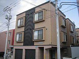 北海道札幌市西区発寒七条11丁目の賃貸アパートの外観