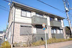 埼玉県吉川市中野の賃貸アパートの外観