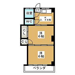 辰巳ビル[3階]の間取り