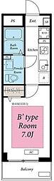 リブリ・エレメント[6階]の間取り