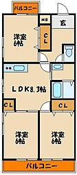 House23[3階]の間取り