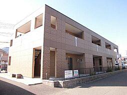静岡県静岡市葵区新伝馬1丁目の賃貸アパートの外観