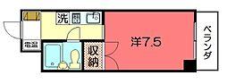 ハイム浄土寺80[202号室]の間取り