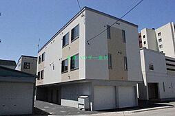 北海道札幌市東区北十六条東10丁目の賃貸アパートの外観