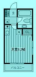 MOD S SQUARE[2階]の間取り