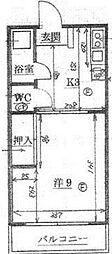 大澤ビル[3階]の間取り