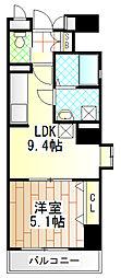 タウンコートS[2階]の間取り