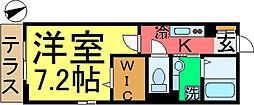 D-room東小松川2丁目A棟[108号室]の間取り