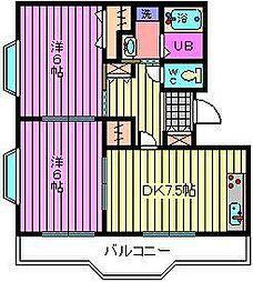 旭ビル 弐番館[3階]の間取り