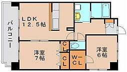オイコスK[2階]の間取り