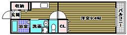 プルミエ[1階]の間取り