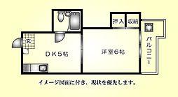 矢野ビル--[302号室]の間取り