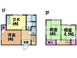 [一戸建] 愛媛県松山市古川西3丁目 の賃貸【/】の間取り