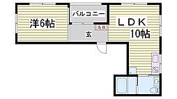 ZOOM CASA[2階]の間取り