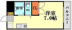 信和ビル[7階]の間取り